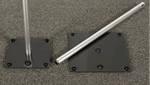 Screw-In System for Pipe & Drape