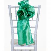 "DecoStar™ 9"" Satin Flower Chair Accent - Seafoam Green"