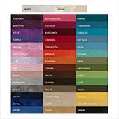 "6FT - Shantung Satin ""Capri"" w/ 4"" Rod Pocket - Many Color Options"
