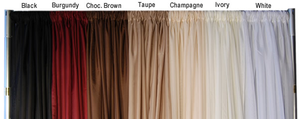 10ft Wide X 15 Ft Long Sheer Voile Curtain Panel W 4 Pockets