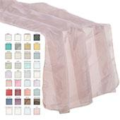 "Sheer Table Runner - 27"" x 118"" - 37 Color Options!"