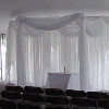 40ft Sheer Valance in Assorted Colors