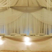 Sheer Fabric Draping