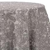 Silver - Chantal Lace Overlay - MANY SIZE OPTIONS