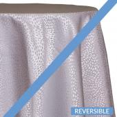 Silver - Droplets Designer Tablecloths by Eastern Mills - Many Size Options