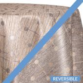 Silver - Millennial Designer Tablecloths by Eastern Mills - Many Size Options