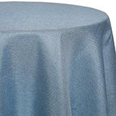 Sky - Designer Glitz Linen Broad Tablecloth by Eastern Mills - Many Size Options
