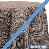 Slate - Sahara Tablecloths - DOUBLE-SIDED - MANY SIZE OPTIONS