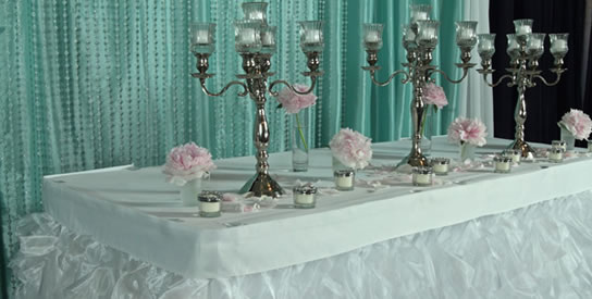 table skirting kits event decor direct buy wholesale wedding decorations linens