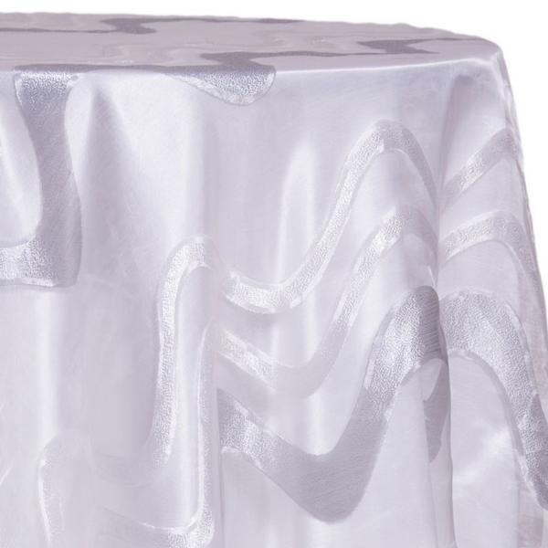 Spa Modern Metallic Sheer Tablecloth Many Size Options