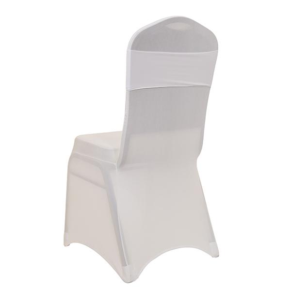 Pleasant Decostar 5 Wide Spandex Chair Band White 10 Pack Unemploymentrelief Wooden Chair Designs For Living Room Unemploymentrelieforg