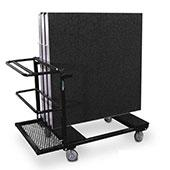 Stage Platform Storage Cart for Staging - Holds 10 Platforms