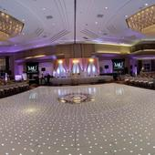 White LED Starlight Dance Floor Kit - 8ft x 8ft (includes Flight Case)