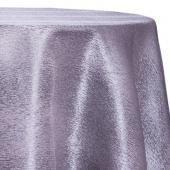 Steel - Designer Mardi Gras Linen Broad Tablecloth by Eastern Mills w/ Brushed Metallic Finish - Many Size Options