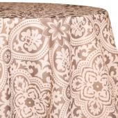 Stone - Sophia Designer Tablecloths by Eastern Mills - Many Size Options
