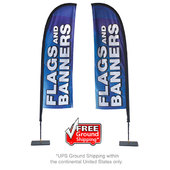 Store Front Flag - Double-Sided Graphic Package