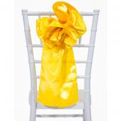 "DecoStar™ 9"" Satin Flower Chair Accent - Sunflower"