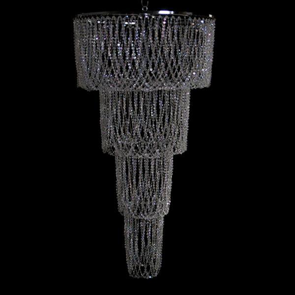 Super large 4 tiered chandelier decostar super large 4 tiered chandelier mozeypictures Images