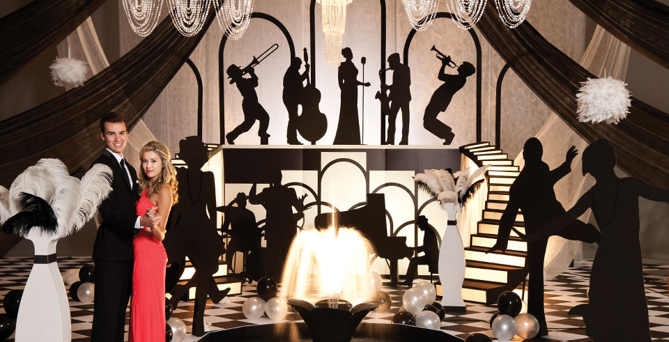 Great Gatsby Themed Party Decorations Jazz Themed Party