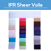 IFR Sheer Voile - 85yd Bolt - 118