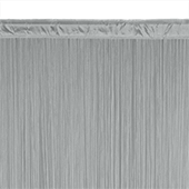 String Curtain - 6.6ft Wide x 10ft Tall - 1700 Strings - SILVER