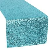 Standard Sequin Table Runner by Eastern Mills - Turquoise