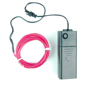 DISCONTINUED ITEM - Battery-Operated Electroluminescent (EL) Wire - 6ft (1.8M) Long - UV