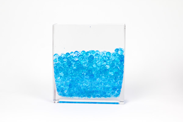 Large Aqua Terra Water Beads Super Expanding Gel Vase Filler Assorted Colors Event Decor