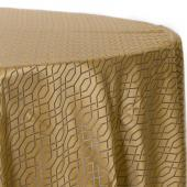 Wheat - Hiren Designer Tablecloths by Eastern Mills- Many Size Options
