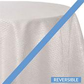 Pure White - Extravagant B Tablecloths - DOUBLE-SIDED - MANY SIZE OPTIONS
