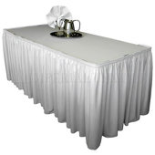 9ft Long Poly Premier Table Cover / Topper - 40 Inches Wide
