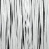 White - Plastic Wet Look Fringe Curtain - Many Size Options